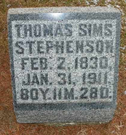 STEPHENSON, THOMAS SIMS - Shelby County, Ohio | THOMAS SIMS STEPHENSON - Ohio Gravestone Photos