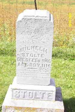 STOLTE, WILHEIM - Shelby County, Ohio | WILHEIM STOLTE - Ohio Gravestone Photos