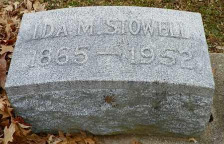STOWELL, IDA M. - Shelby County, Ohio | IDA M. STOWELL - Ohio Gravestone Photos