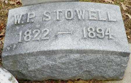 STOWELL, W. P. - Shelby County, Ohio | W. P. STOWELL - Ohio Gravestone Photos