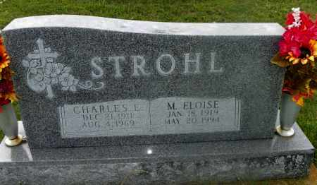 STROHL, M. ELOISE - Shelby County, Ohio | M. ELOISE STROHL - Ohio Gravestone Photos