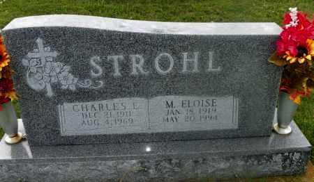 STROHL, CHARLES E. - Shelby County, Ohio | CHARLES E. STROHL - Ohio Gravestone Photos