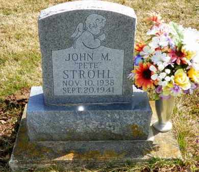 STROHL, JOHN M. - Shelby County, Ohio | JOHN M. STROHL - Ohio Gravestone Photos