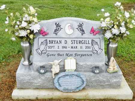 STURGILL, BRYAN D. - Shelby County, Ohio | BRYAN D. STURGILL - Ohio Gravestone Photos