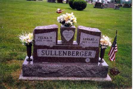 SULLENBERGER, EDWARD J. - Shelby County, Ohio | EDWARD J. SULLENBERGER - Ohio Gravestone Photos