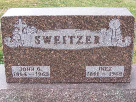 SWEITZER, JOHN G - Shelby County, Ohio | JOHN G SWEITZER - Ohio Gravestone Photos