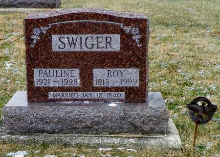 SWIGER, ROY - Shelby County, Ohio | ROY SWIGER - Ohio Gravestone Photos