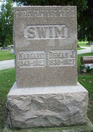 SWIM, MARGARET - Shelby County, Ohio | MARGARET SWIM - Ohio Gravestone Photos