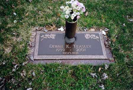TEASLEY, DEBBIE K. - Shelby County, Ohio | DEBBIE K. TEASLEY - Ohio Gravestone Photos