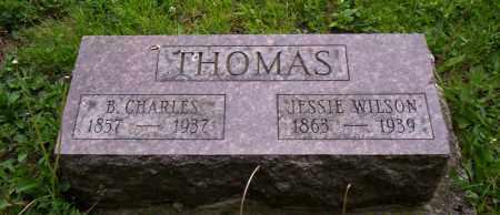 THOMAS, B. CHARLES - Shelby County, Ohio | B. CHARLES THOMAS - Ohio Gravestone Photos