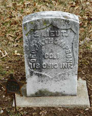 THOMPSON, GEORGE M. - Shelby County, Ohio | GEORGE M. THOMPSON - Ohio Gravestone Photos