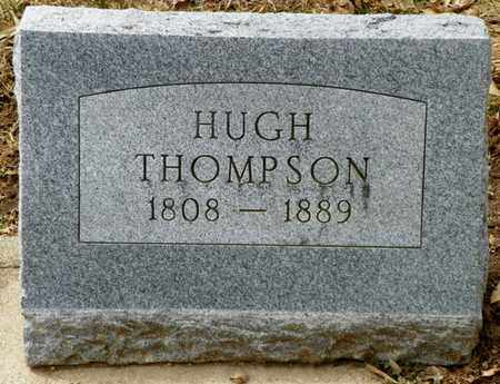 THOMPSON, HUGH - Shelby County, Ohio | HUGH THOMPSON - Ohio Gravestone Photos