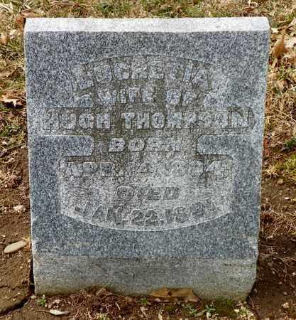 THOMPSON, LUCRETIA - Shelby County, Ohio | LUCRETIA THOMPSON - Ohio Gravestone Photos