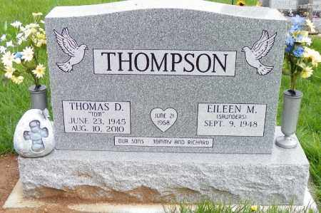 THOMPSON, THOMAS D. - Shelby County, Ohio | THOMAS D. THOMPSON - Ohio Gravestone Photos