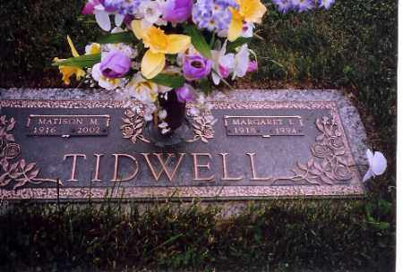 TIDWELL, MATISON M. - Shelby County, Ohio | MATISON M. TIDWELL - Ohio Gravestone Photos