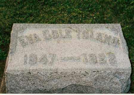 TOLAND, EVA - Shelby County, Ohio | EVA TOLAND - Ohio Gravestone Photos