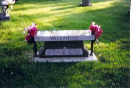 VALENTINE, JOAN - Shelby County, Ohio | JOAN VALENTINE - Ohio Gravestone Photos
