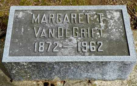 VAN DE GRIFT, MARGARET T. - Shelby County, Ohio | MARGARET T. VAN DE GRIFT - Ohio Gravestone Photos