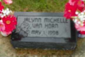VAN HORN, JALYNN MICHELLE - Shelby County, Ohio | JALYNN MICHELLE VAN HORN - Ohio Gravestone Photos