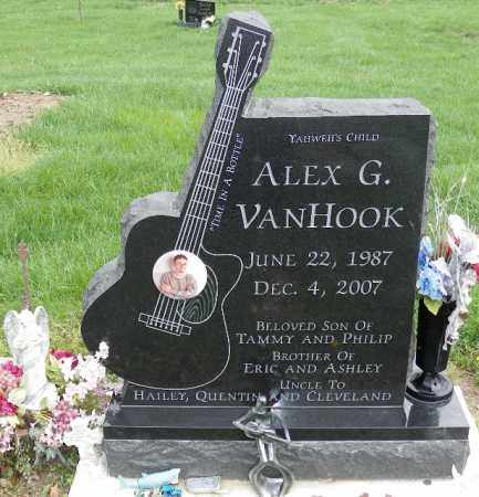 VAN HOOK, ALEX G. - Shelby County, Ohio | ALEX G. VAN HOOK - Ohio Gravestone Photos
