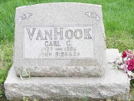 VAN HOOK, CARL G. - Shelby County, Ohio | CARL G. VAN HOOK - Ohio Gravestone Photos