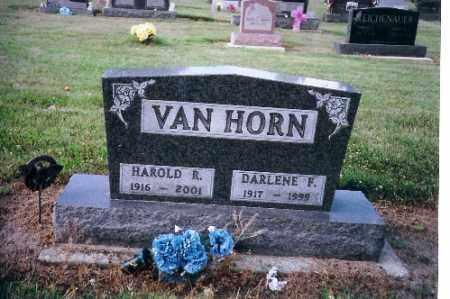 VAN HORN, HAROLD R. - Shelby County, Ohio | HAROLD R. VAN HORN - Ohio Gravestone Photos