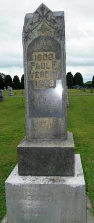 VERDIER, SARAH E. - Shelby County, Ohio | SARAH E. VERDIER - Ohio Gravestone Photos