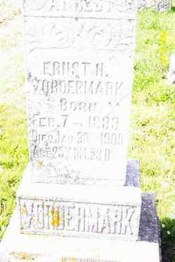 VORDERMARK, ERNEST H - Shelby County, Ohio | ERNEST H VORDERMARK - Ohio Gravestone Photos