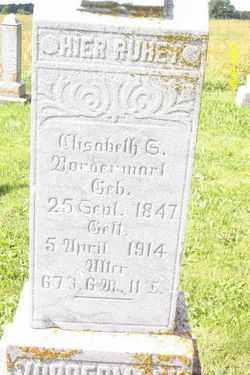 VORDERMARK, ELISABETH - Shelby County, Ohio | ELISABETH VORDERMARK - Ohio Gravestone Photos
