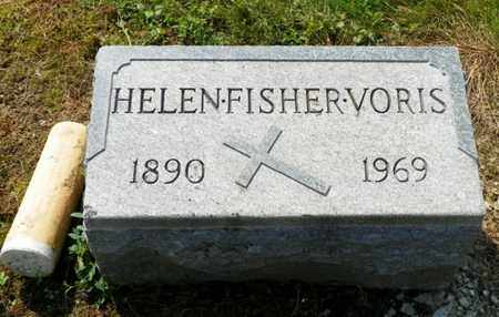 FISHER VORIS, HELEN - Shelby County, Ohio | HELEN FISHER VORIS - Ohio Gravestone Photos