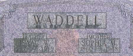 WADDELL, ISAAC W - Shelby County, Ohio | ISAAC W WADDELL - Ohio Gravestone Photos