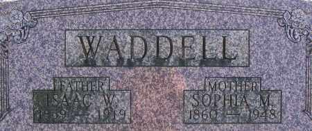 WADDELL, SOPHIA M - Shelby County, Ohio | SOPHIA M WADDELL - Ohio Gravestone Photos