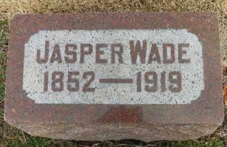 WADE, JASPER - Shelby County, Ohio | JASPER WADE - Ohio Gravestone Photos
