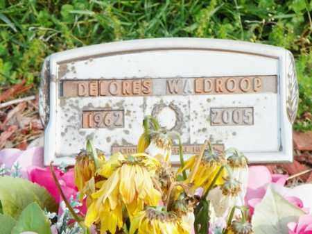 WALDROOP, DELORES - Shelby County, Ohio | DELORES WALDROOP - Ohio Gravestone Photos