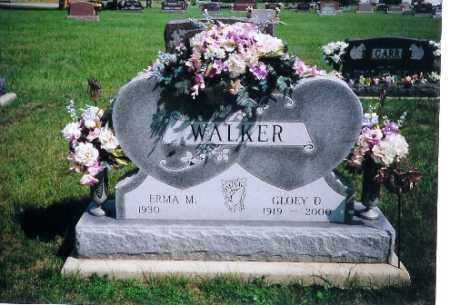 WALKER, GLOEY D. - Shelby County, Ohio | GLOEY D. WALKER - Ohio Gravestone Photos
