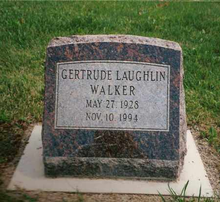 LAUGHLIN WALKER, GERTRUDE MAE - Shelby County, Ohio | GERTRUDE MAE LAUGHLIN WALKER - Ohio Gravestone Photos