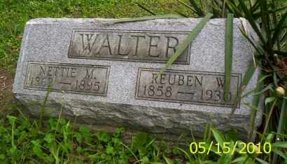 WALTER, REUBEN W. - Shelby County, Ohio | REUBEN W. WALTER - Ohio Gravestone Photos