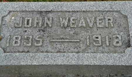WEAVER, JOHN - Shelby County, Ohio | JOHN WEAVER - Ohio Gravestone Photos