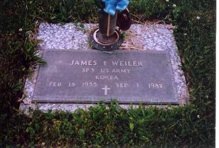WEILER, JAMES F. - Shelby County, Ohio | JAMES F. WEILER - Ohio Gravestone Photos