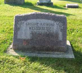 WESTERHEIDE, GREGORY RAYMOND - Shelby County, Ohio | GREGORY RAYMOND WESTERHEIDE - Ohio Gravestone Photos