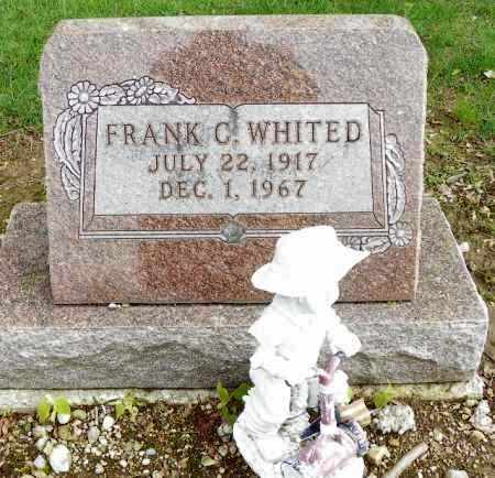 WHITED, FRANK C - Shelby County, Ohio | FRANK C WHITED - Ohio Gravestone Photos