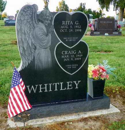 WHITLEY, CRAIG A. - Shelby County, Ohio | CRAIG A. WHITLEY - Ohio Gravestone Photos