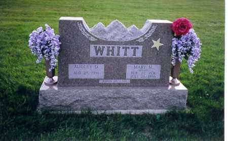 WHITT, AUDLEY D. - Shelby County, Ohio | AUDLEY D. WHITT - Ohio Gravestone Photos