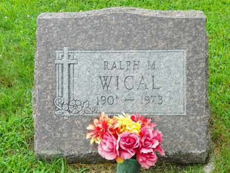 WICAL, RALPH M. - Shelby County, Ohio | RALPH M. WICAL - Ohio Gravestone Photos