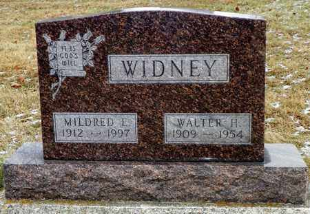 WIDNEY, WALTER H. - Shelby County, Ohio | WALTER H. WIDNEY - Ohio Gravestone Photos