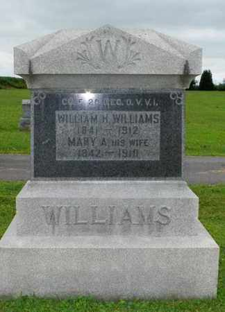 WILLIAMS, MARY A. - Shelby County, Ohio | MARY A. WILLIAMS - Ohio Gravestone Photos