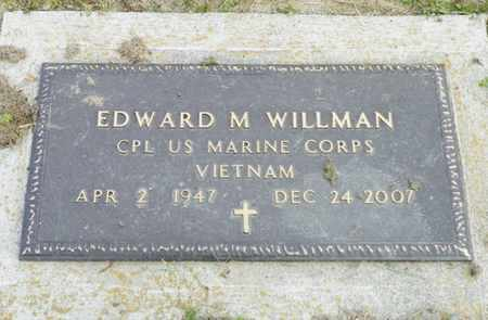 WILLMAN, EDWARD M. - Shelby County, Ohio | EDWARD M. WILLMAN - Ohio Gravestone Photos