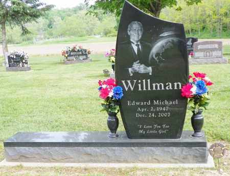 WILLMAN, EDWARD MICHAEL - Shelby County, Ohio | EDWARD MICHAEL WILLMAN - Ohio Gravestone Photos