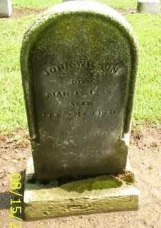 WILSON, JOHN - Shelby County, Ohio | JOHN WILSON - Ohio Gravestone Photos