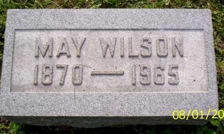 WILSON, MAY - Shelby County, Ohio | MAY WILSON - Ohio Gravestone Photos